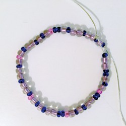 Binary Bead Craft: Bracelet (or Necklace) Version