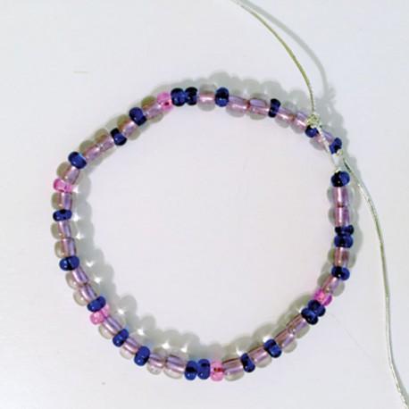 Binary Bead Craft: Bracelet (or Necklace) Version