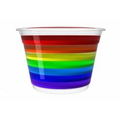Rainbow from Black