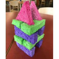 Quiet Block Building Challenge. Image Credit: from Original Activity