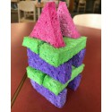 Quiet Block Building Challenge