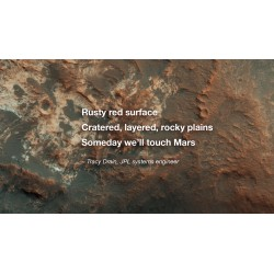 Planetary Poetry. Photo credit: NASA