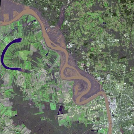 Flood! Photo Credit:NASA/GSFC/METI/ERSDAC/JAROS, and U.S./Japan ASTER Science Team