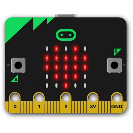 Micro:bit Heart. Image Credit: BBC micro:bit