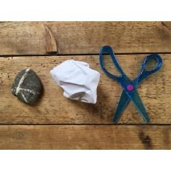 Micro:bit Rock, Paper, Scissors. Image Credit: BBC micro:bit