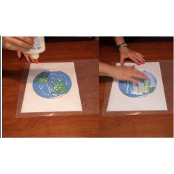 Make a Stained Glass Earth!