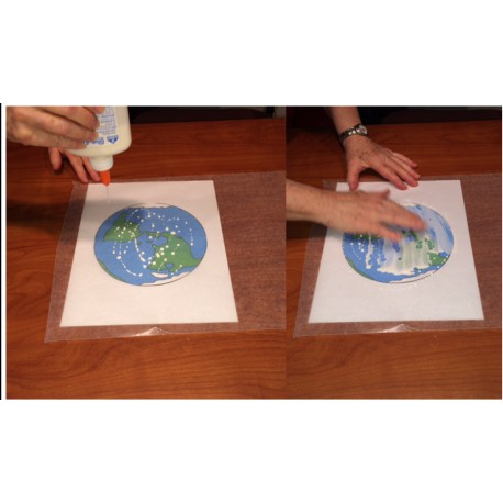 Make a Stained Glass Earth! Photo Credit: JPL