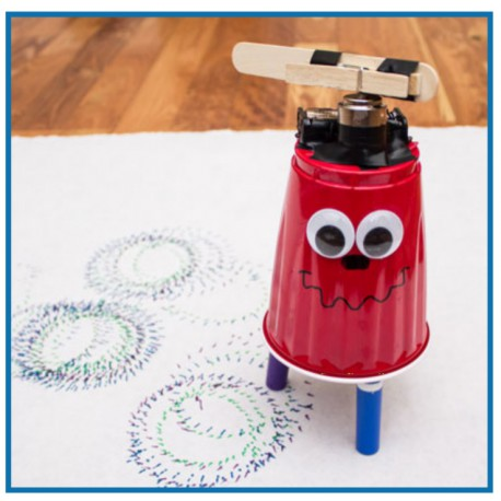 Homemade Wigglebot Image from Activity by DiscoverE