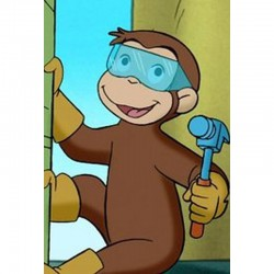 Curious George: Build a Wall