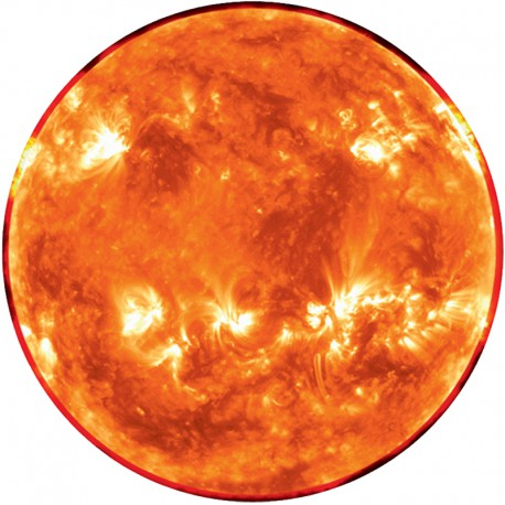 Scale Model of Sun and Earth